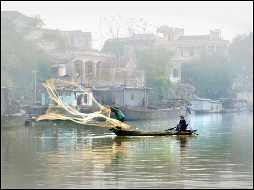 echa las redes en otros rios